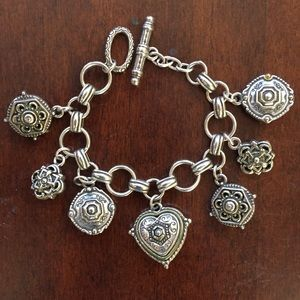 Vintage Brighton charm bracelet